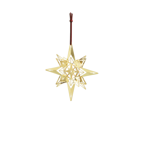 Hanging Star Gold - Scandi Interiors