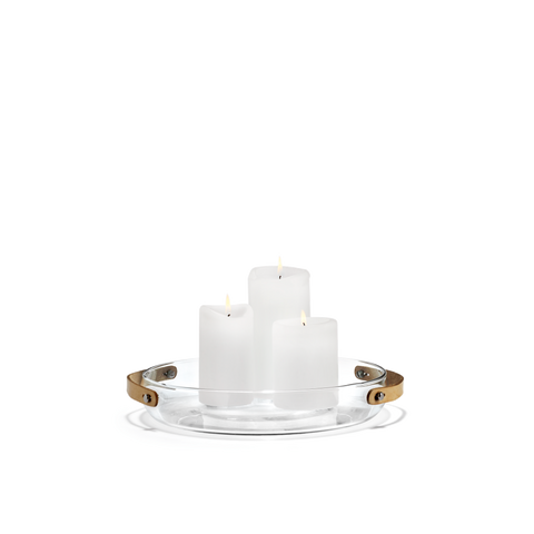 Design With Light Candle Dish - Scandi Interiors