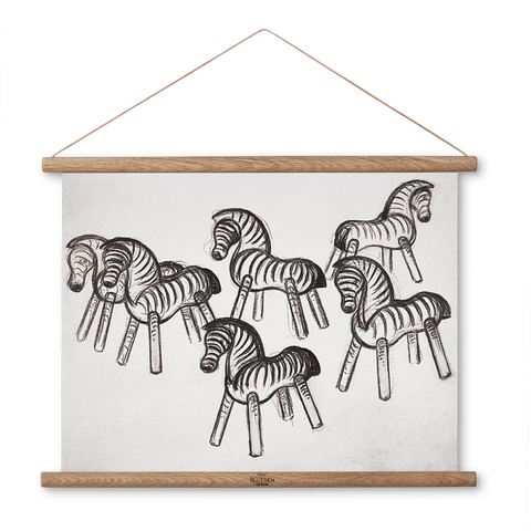 Zebra's Photo Sketch - Scandi Interiors