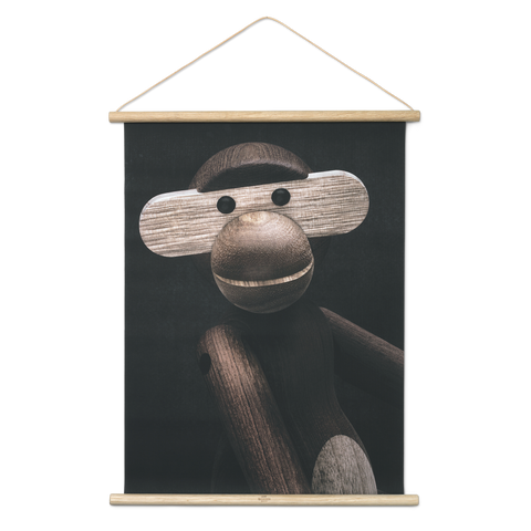 Monkey Photo Portait - Scandi Interiors