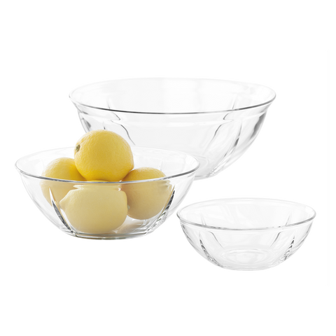 Grand Cru Soft Set of Glass Bowls - Scandi Interiors