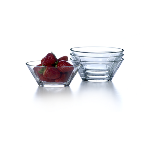 Grand Cru Glass Bowl, 4 pcs - Scandi Interiors
