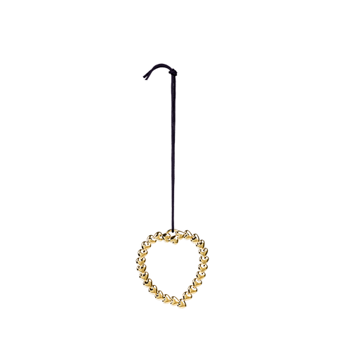 Heart Wreath Gold - Scandi Interiors