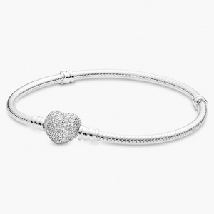 Herz Armband 925 Sterling Silver