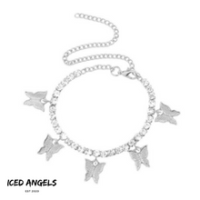 Laden Sie das Bild in den Galerie-Viewer, ICED ANGELS - BUTTERFLY ARMBAND/FUSS