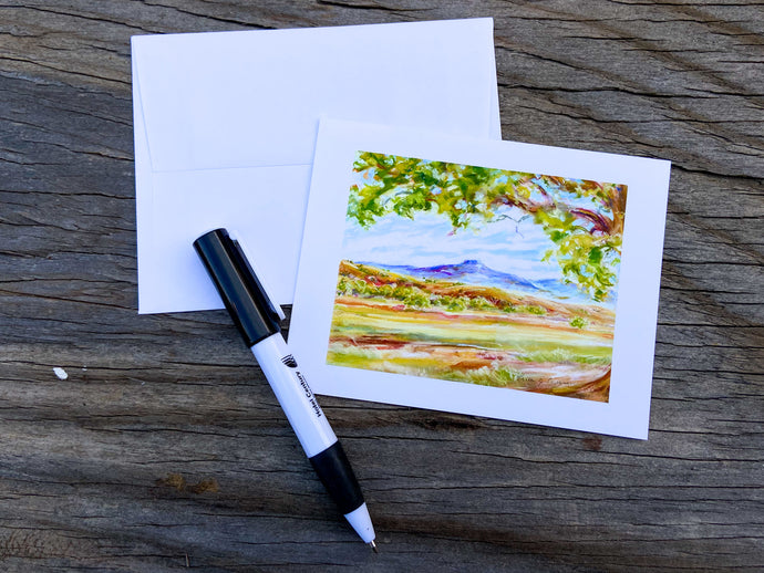 New Mexico Watercolor Print Card collection of 10