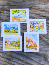 Load image into Gallery viewer, New Mexico Watercolor Print Card collection of 10
