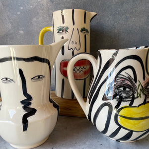 Cocktail cutting board with turquoise inlay