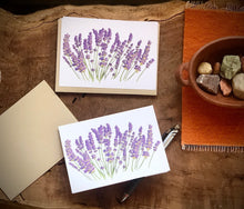 Load image into Gallery viewer, Lavender Cards - Set of 5