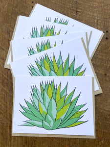 Century Plant Cards - Set of 5