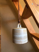 Load image into Gallery viewer, Fog white Bell - Stoneware