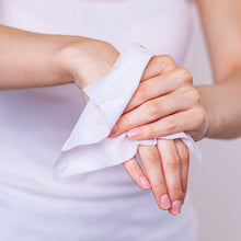 Load image into Gallery viewer, dymacare antibacterial hand wipes help you to keep  your hands clean and stay protected. They are ideal hand sanitising solution at home, in the office, in the shop.