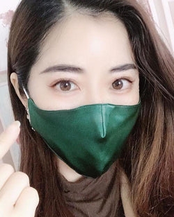 Silk Anti Pollution Face Mask