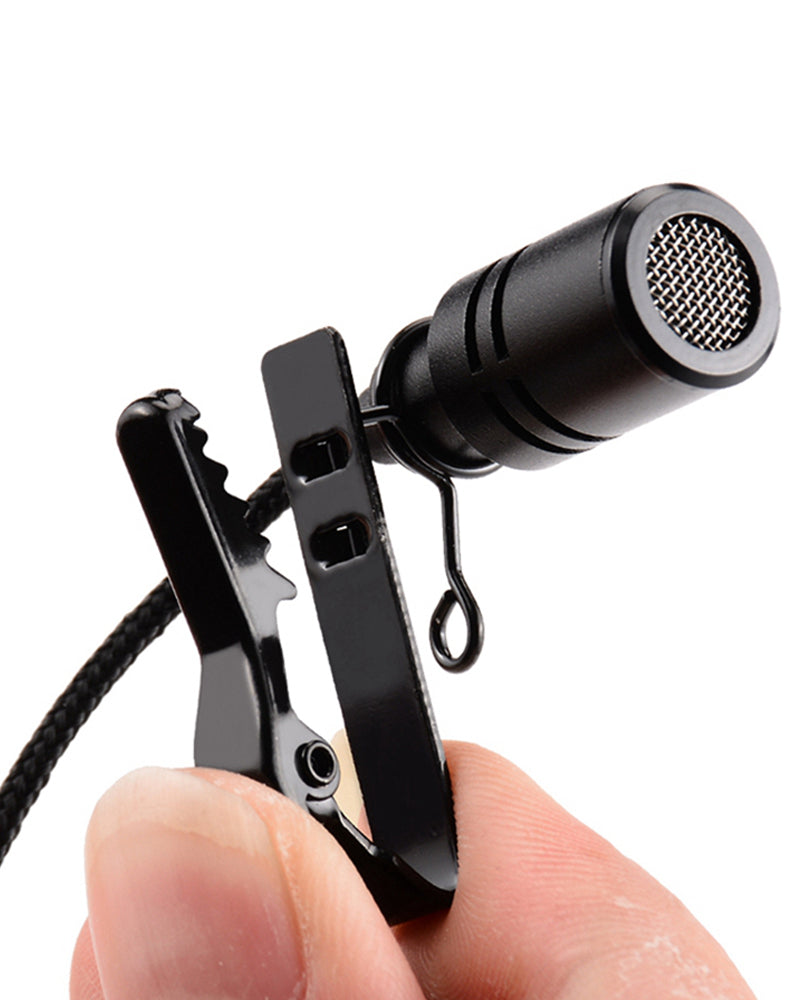 Metal Lavalier Headset Megaphone Microphone Tuner Teacher Wired Microphone
