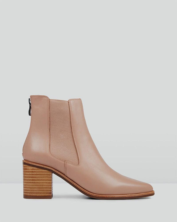 Pointed Toe Elastic Low Boots