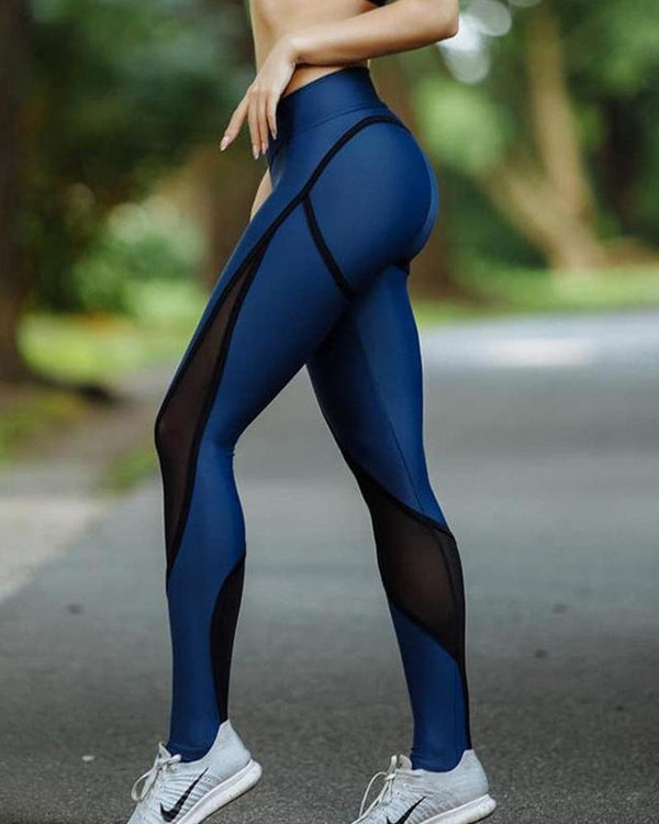 Contrast High Rise Yoga Leggings