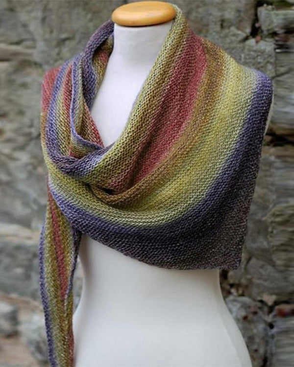 Color Block 3 Angle Scarf