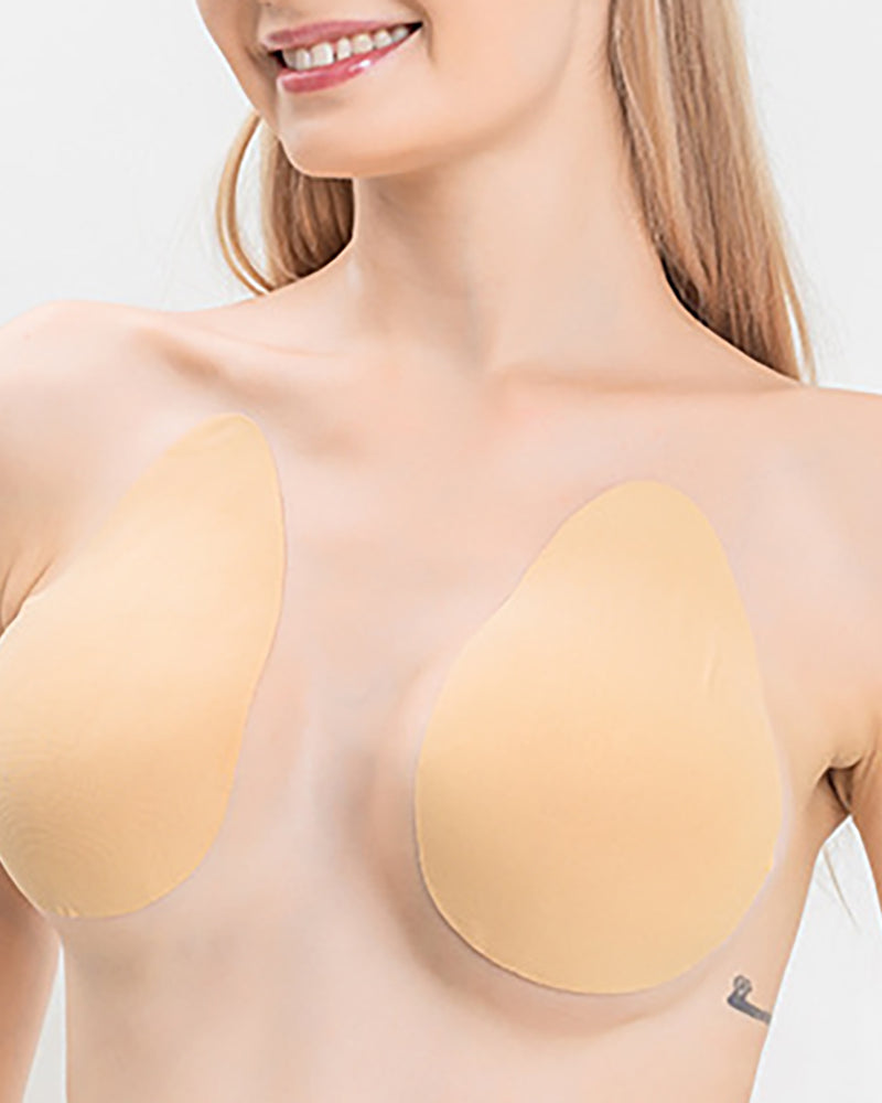 Silicone Push Up Invisible Bra Adhesive Nipple Cover Bust Lifter