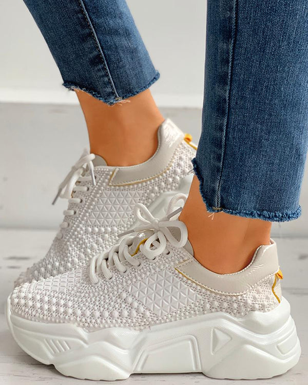 Rivet Casual Muffin Sneakers