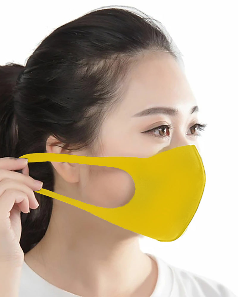 Breathable Windproof Ear Loop Mouth Mask Washable And Reusable