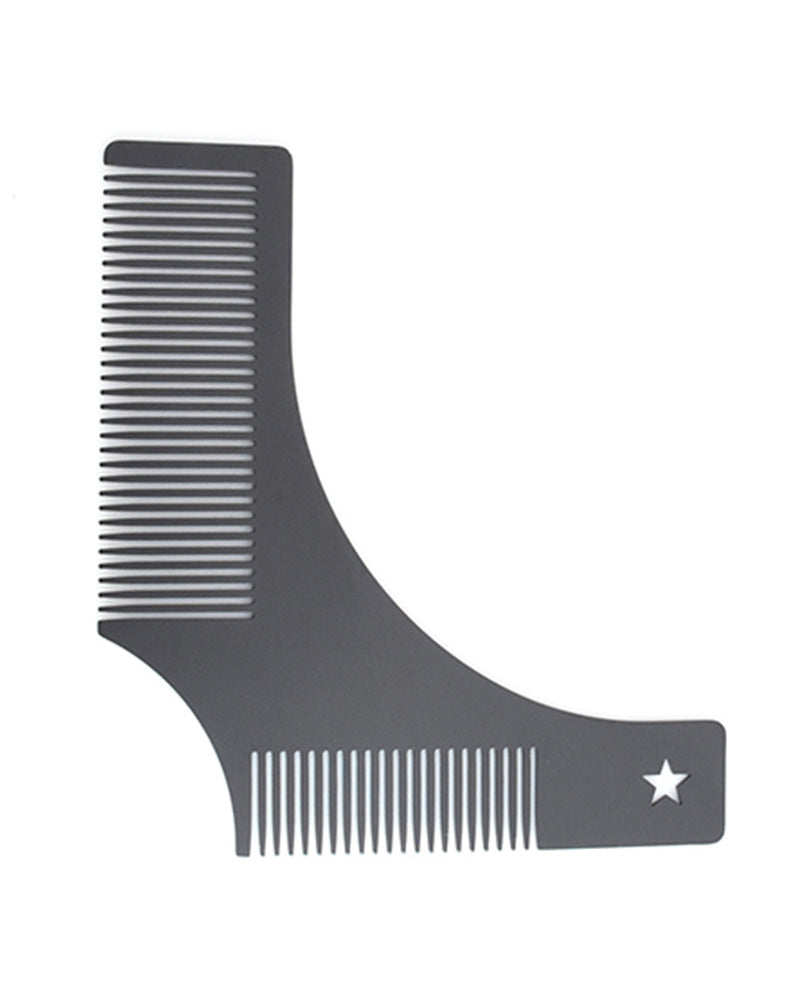 Beard Styling Template Comb Beauty Tool for Trimming