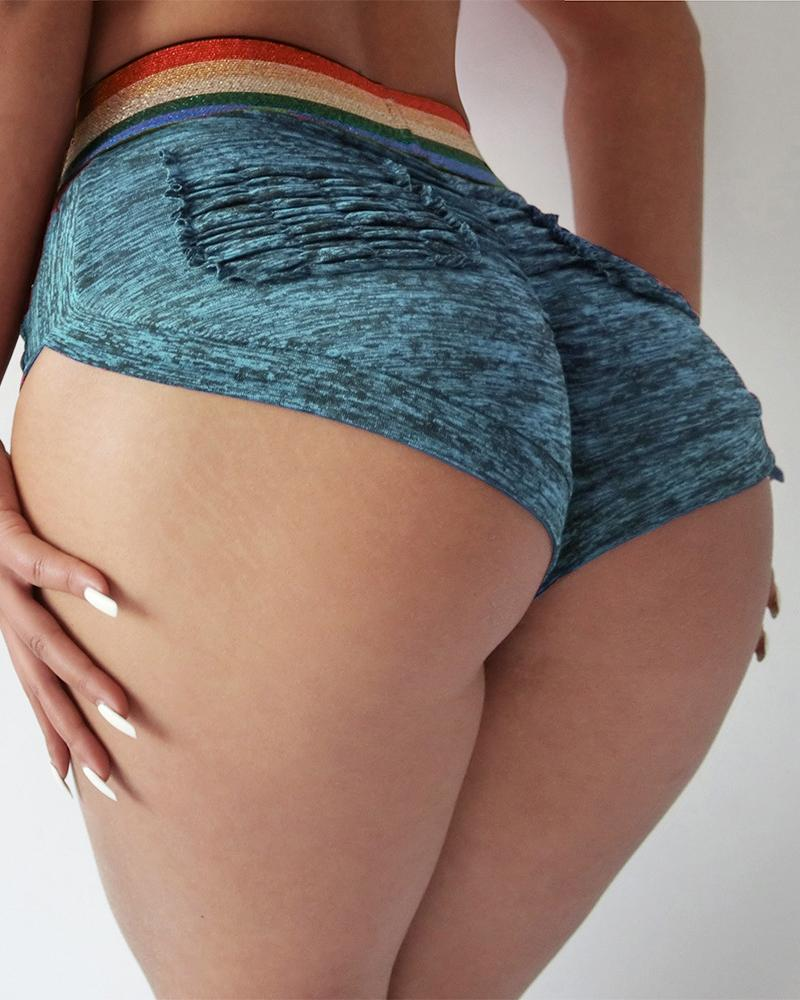 High Waist Butt Lift Sporty Shorts