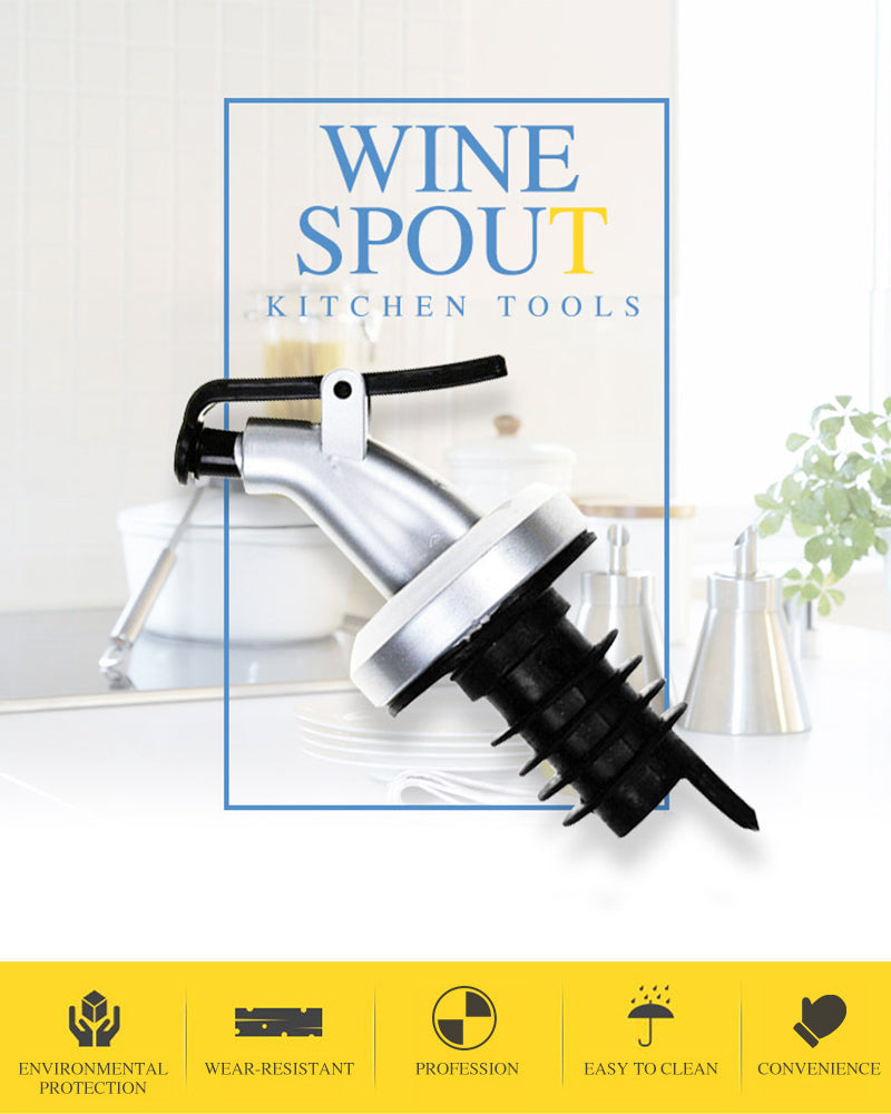 NEW Kitchen Gadgets Wine Olive Oil Soy Sauce Spout Pourer