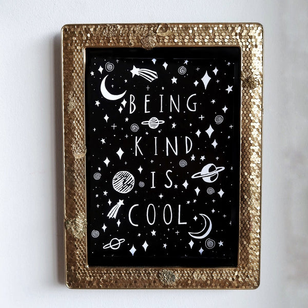 being kind is cool mini print / postcard