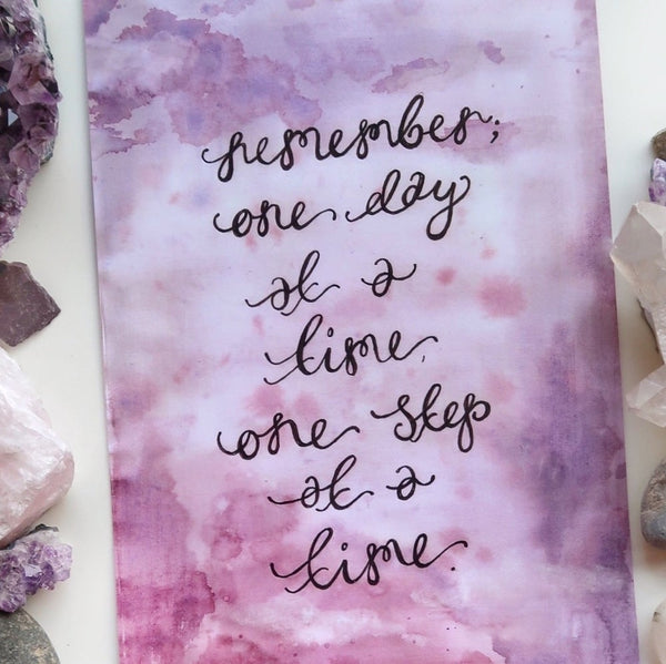 remember, one day at a time print