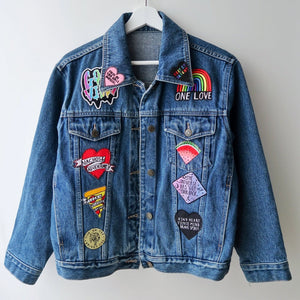 the 'superstar' denim jacket