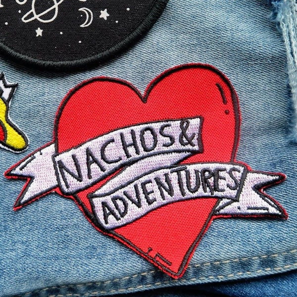 nachos & adventures sew-on patch