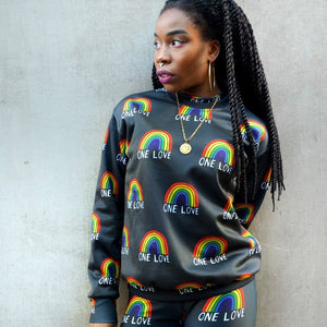 one love deluxe sweatshirt