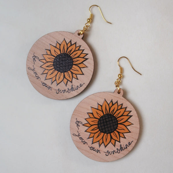 be your own sunshine earrings