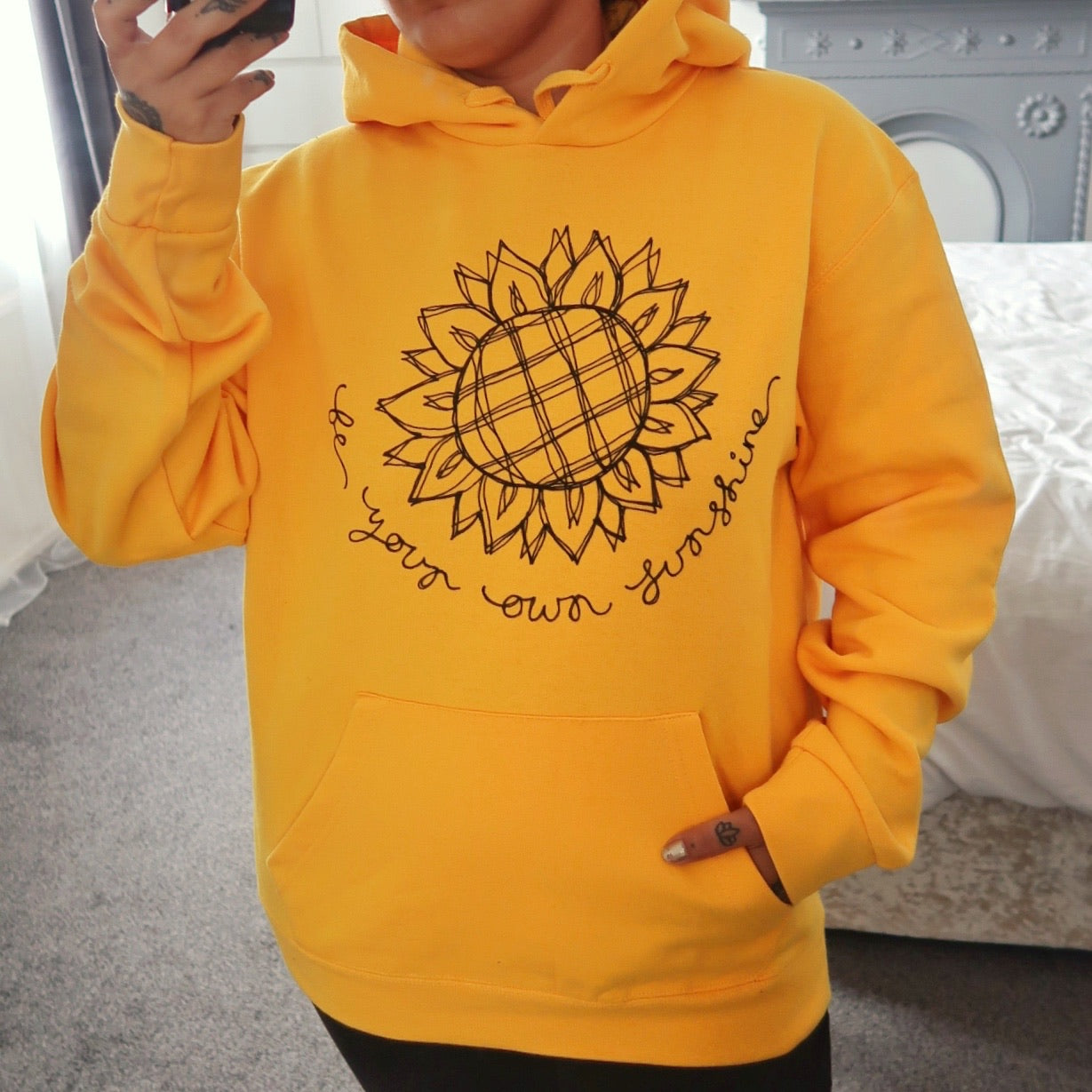 be your own sunshine hoodie