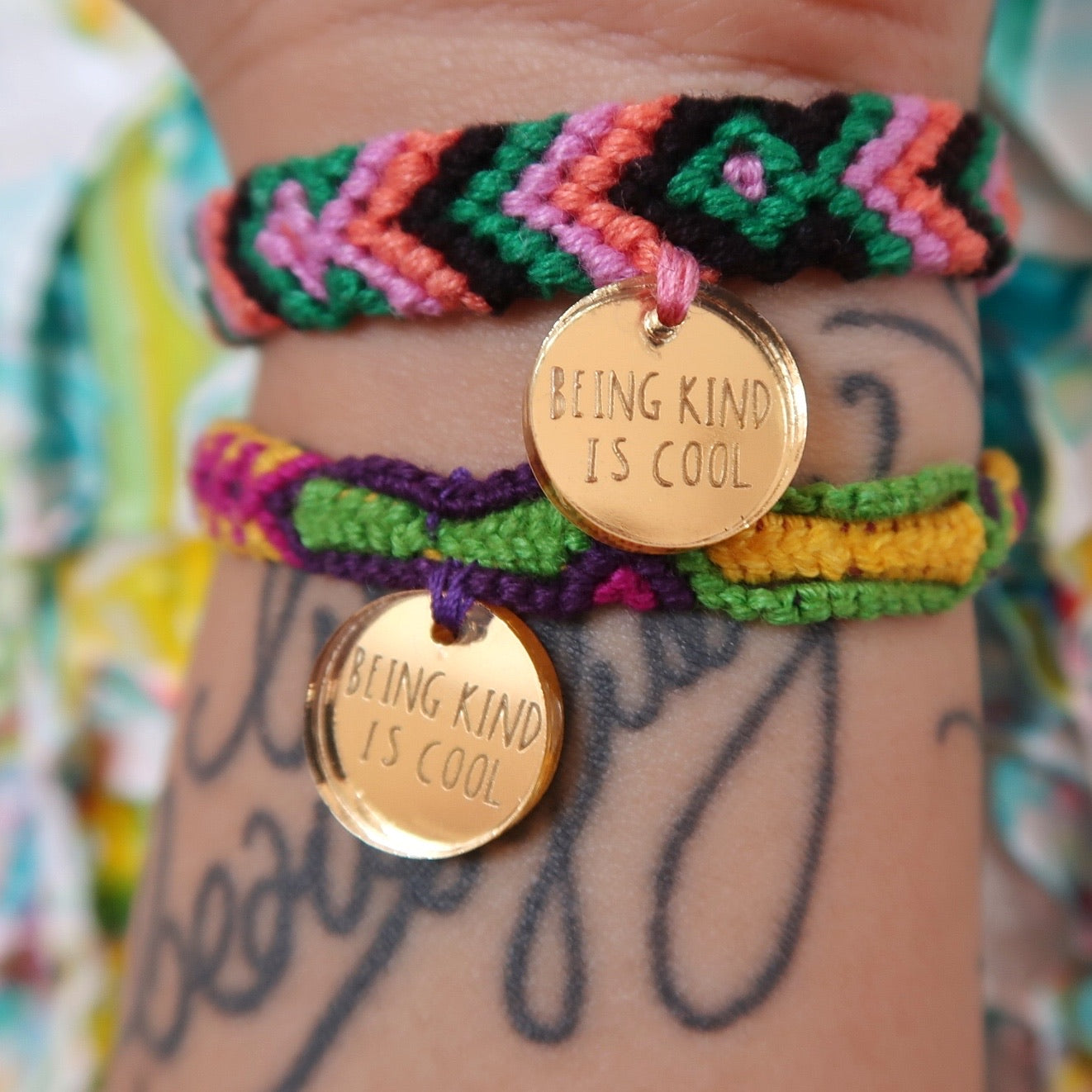 being kind is cool bracelet