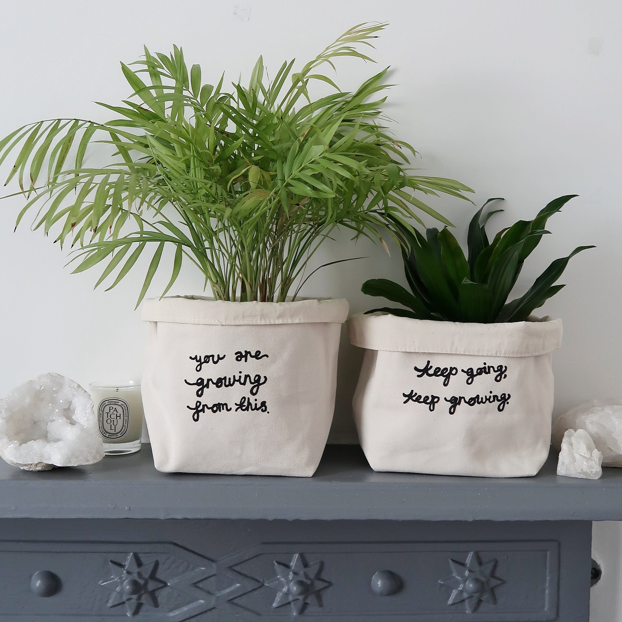 plant pot covers - small