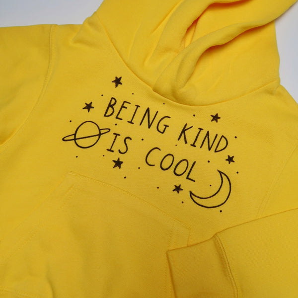 kids being kind is cool hoodie