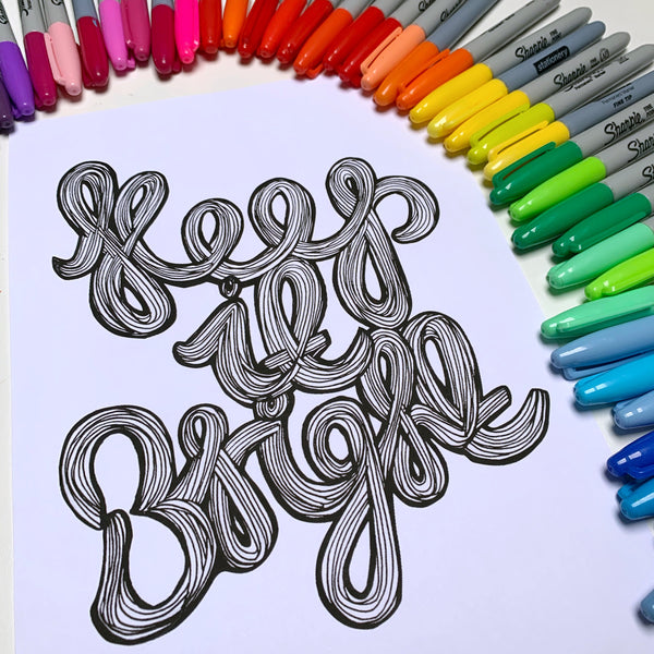 FREE keep it bright colouring-in sheet (print-at-home)