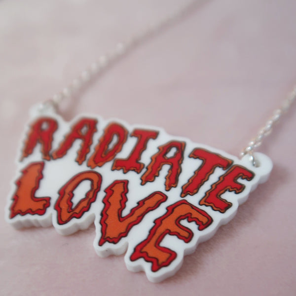 radiate love necklace