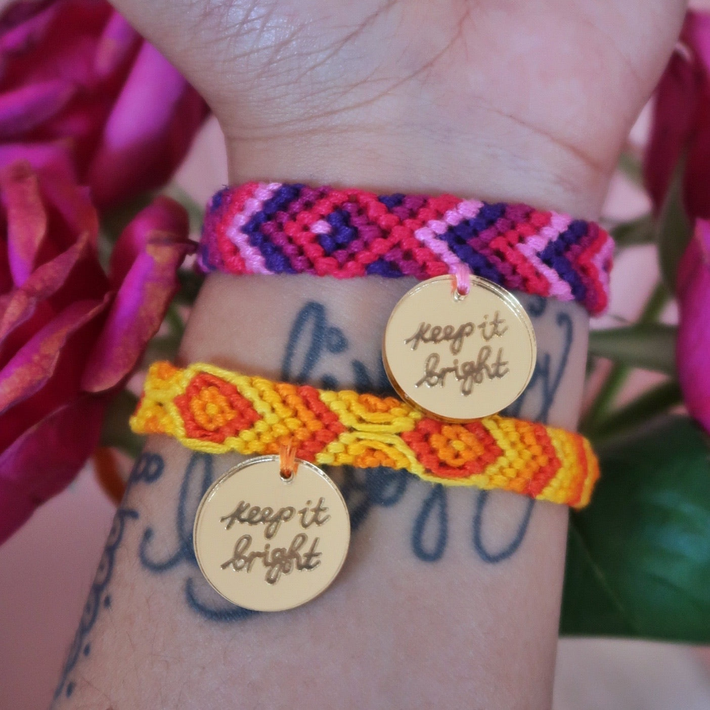 keep it bright bracelet