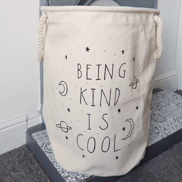 being kind is cool extra large basket