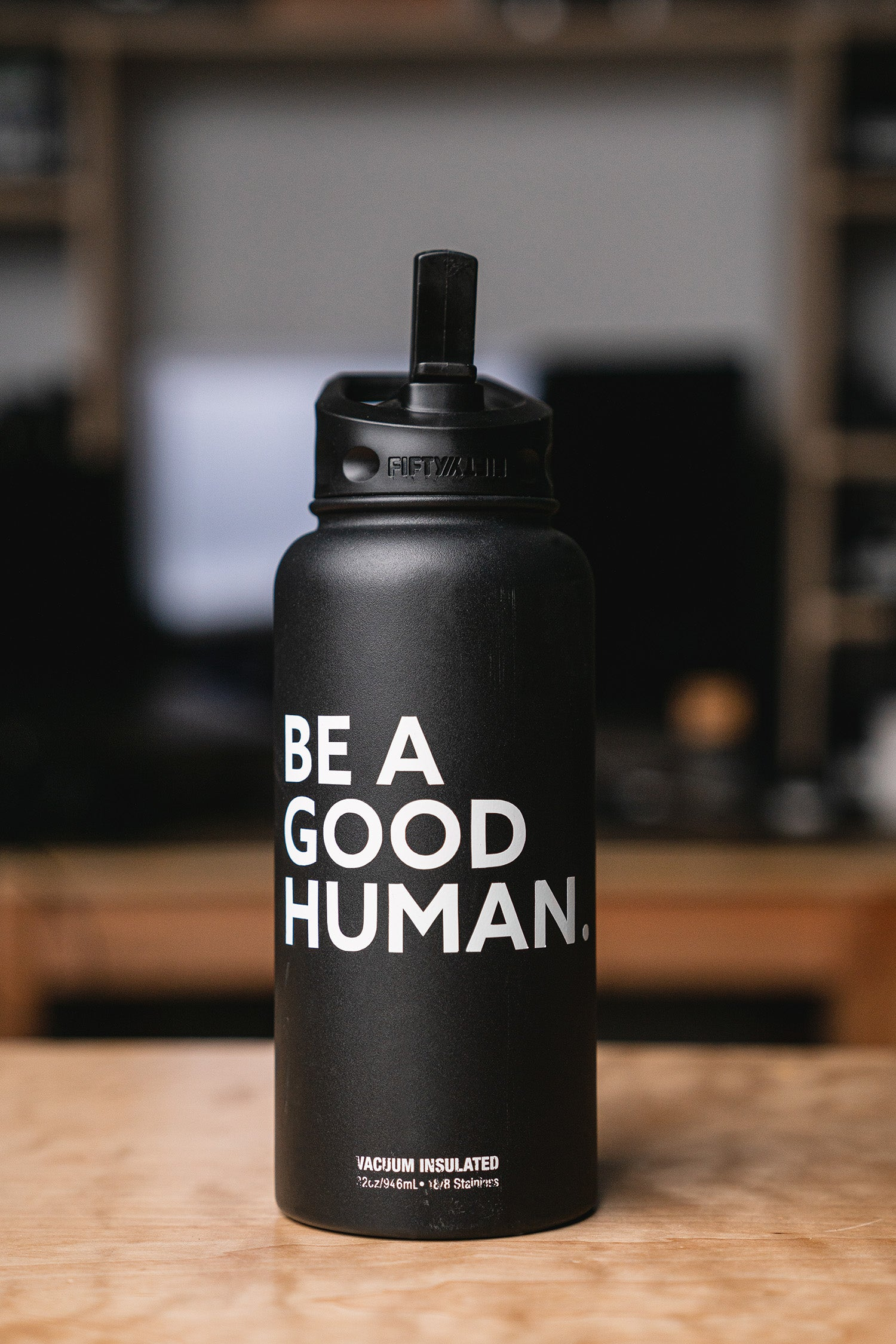 BE A GOOD HUMAN. Vinyl Transfer Sticker