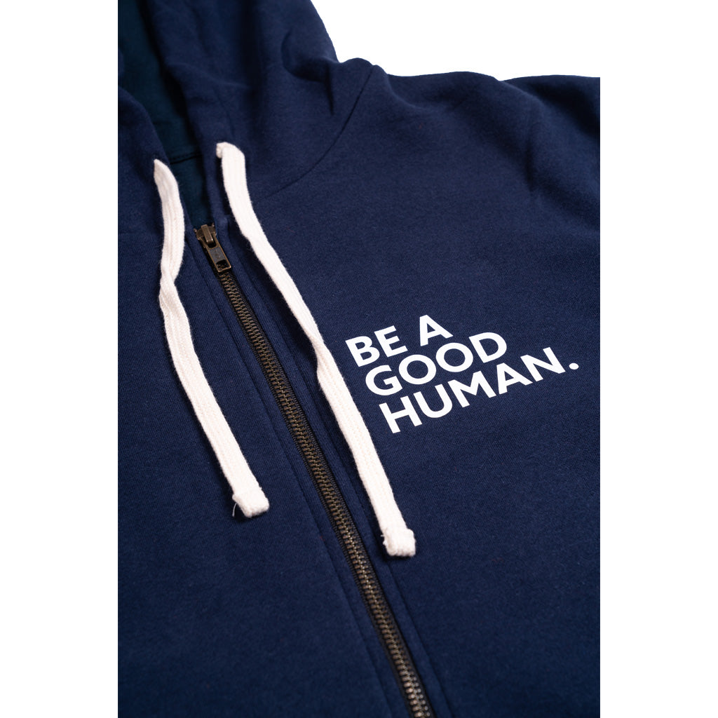 SUPER COZY - BE A GOOD HUMAN - SLIM FIT UNISEX Hoodie