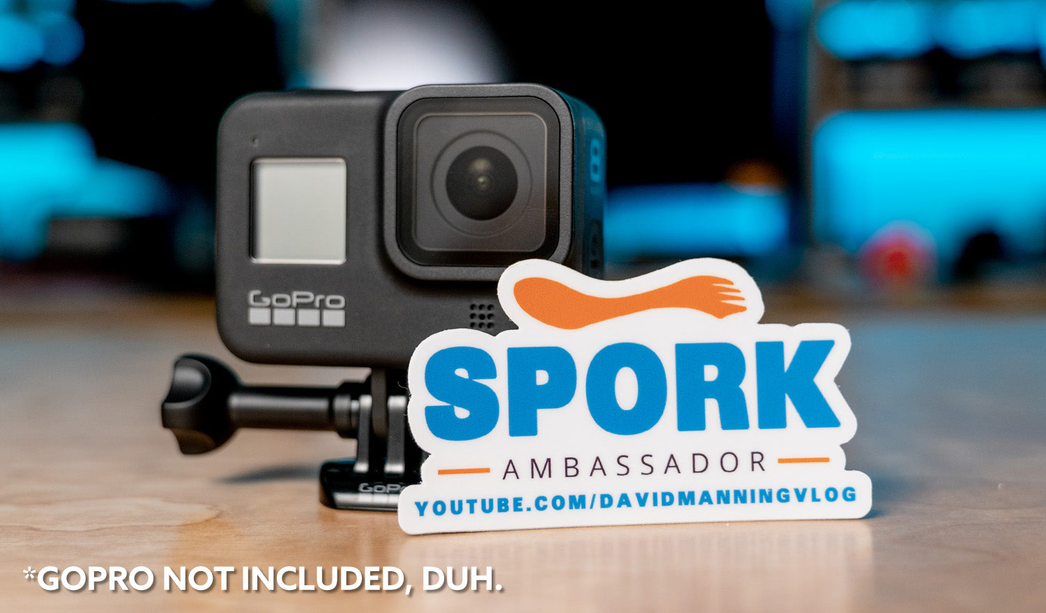 Spork Ambassador Sticker - If you know, you know ;)
