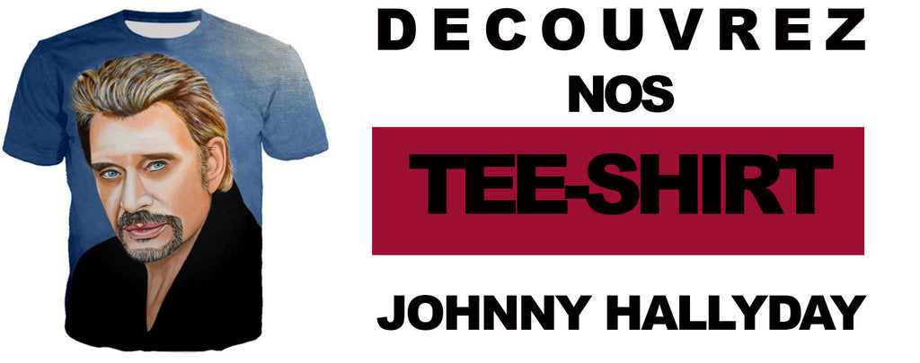 les tee-shirts Johnny