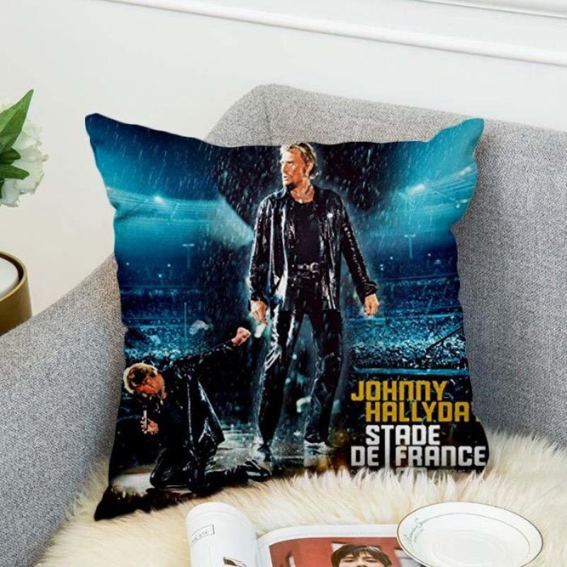 Coussin Johnny Hallyday stade de France