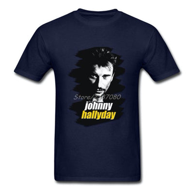 Un T-shirt Collector Johnny Hallyday