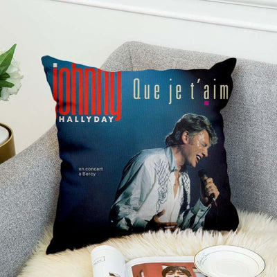 Le Coussin Johnny Hallyday que je t'aime