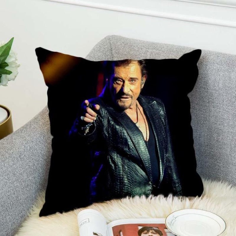 Coussin Johnny Hallyday Charismatique