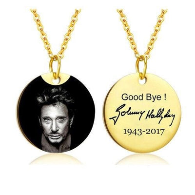Le Collier Johnny Hallyday on t'oubli pas